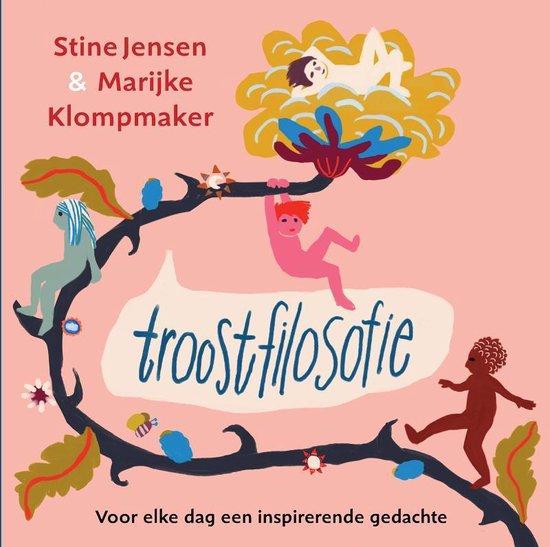 Cover TROOSTFILOSOFIE : Voor elke dag een inspirerende gedachte